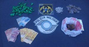 O crime aconteceu hoje no bairro Fonte Imaculada em Taubaté durante o patrulhamento do 1º BAEP – Batalhão de Ações Especiais da Policia Militar. Foto: Divulgação